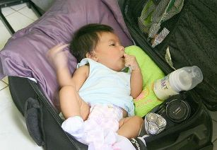 traveling with new born
