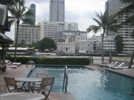 The Pool At The Peninsula Bangkok