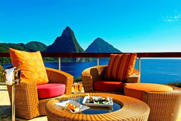 Amazing Views From A Jade Mountain Resort Caribbean S