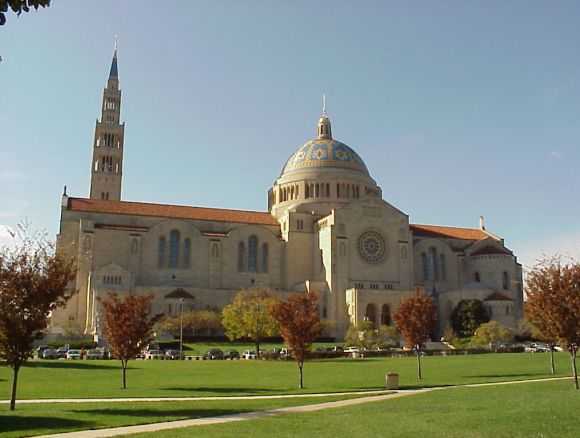 basilica of the national shrine of the immaculate conception, washington, D.C., USA