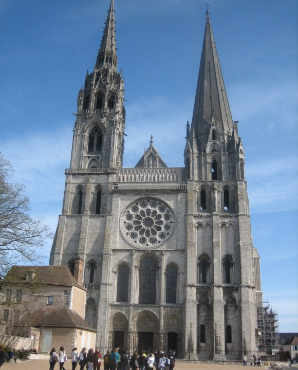 cathedral of our lady of chartres, chartres, france