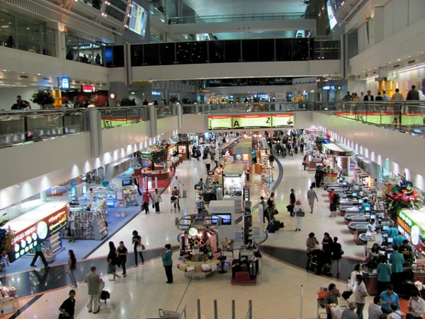 Dubai International Airport Shopping