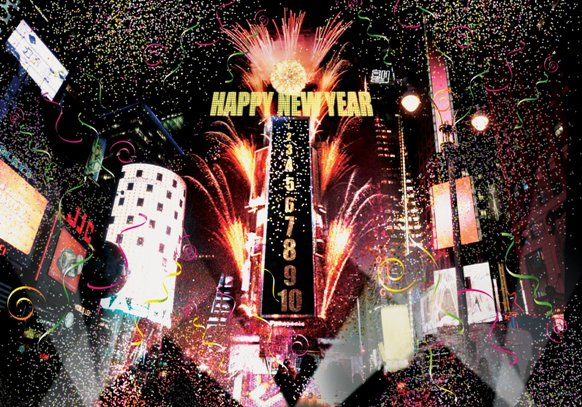 New Year Celebrations at New York