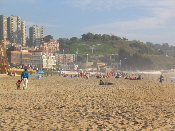 Attractions in Vina del Mar, Chile