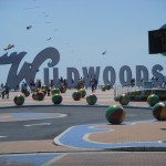 Wildwood, New Jersey, USA-The Wildwood Boardwalk