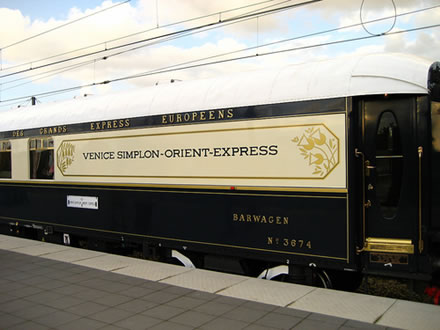 The Venice Simplon-Orient Express