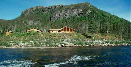 Newfoundland Shoal Harbour Grey River Lodge