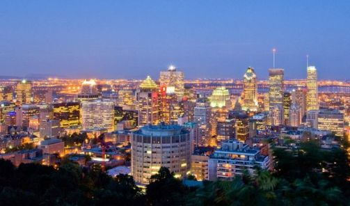 Montreal City Lights