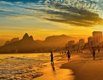 A Lazy Evening at Ipanema