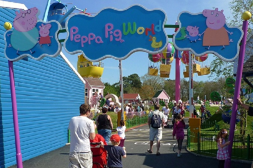 Peppa Pig world, Hampshire