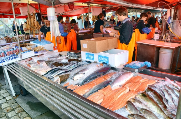 The most versatile fish market