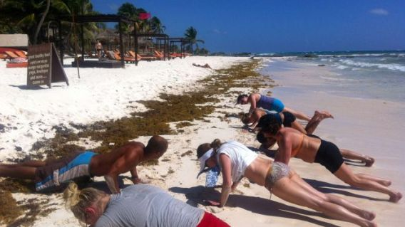 Bikini Bootcamp in Tulum, Mexico