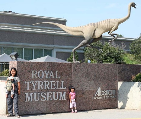 Royal Tyrrell Museum of Palaeontology, Alberta