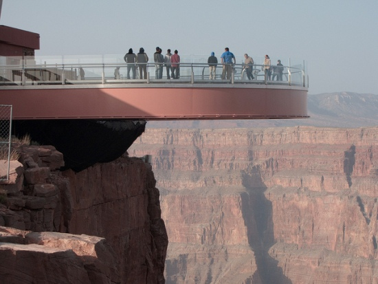 The Grand Canyon Skywalk, Arizona, USA