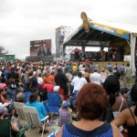 The New Orleans Jazz and Heritage Festival