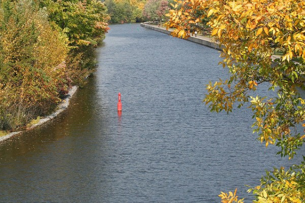 The Rideau Canal, Ontario