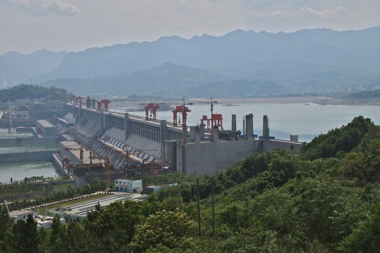 Three Gorges Dam, Hubei, China