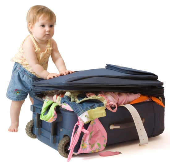 essentials to pack on a trip with a toddler