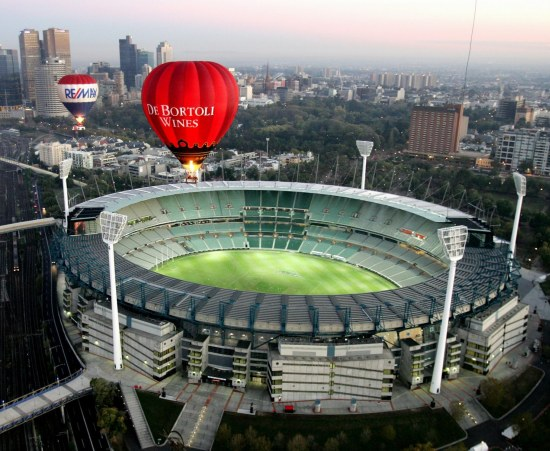 melbourne cricket ground in melbourne