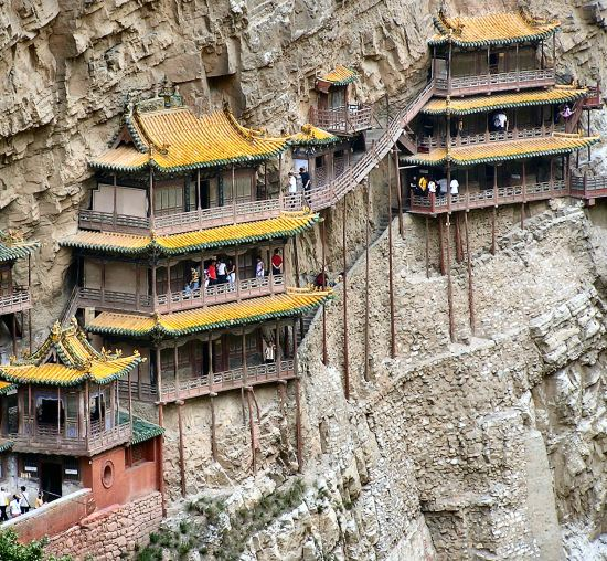 xuan kong monastery, china