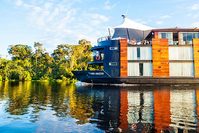 Glide down the Amazon in a Classic Riverboat