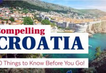 Things to know before you go to croatia