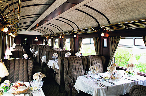 10 Best Luxury Trains of the World