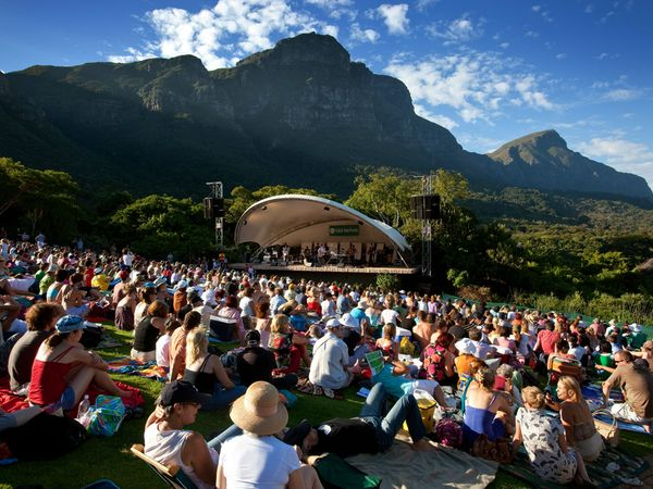 Kirstenbosch Botanical Garden, South Africa