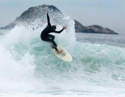Surfing in Itacare