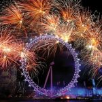 London – the first New Year party of Prince George