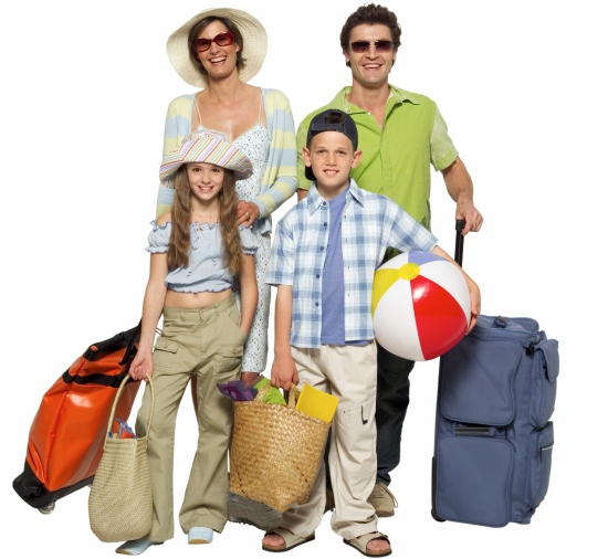 cut costs for a family vacation