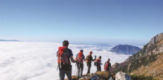 Top five Europe's best hiking trails
